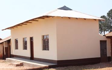 Renovated male teachers' quarters completed last winter